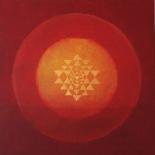 Mandala rød